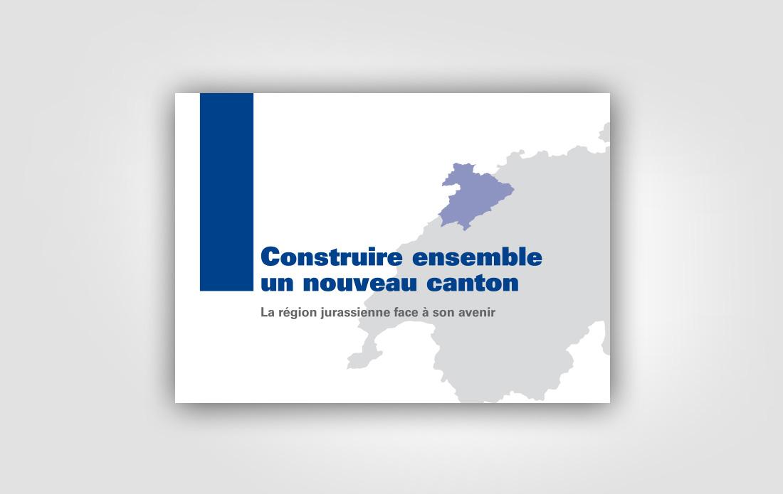 """Rapport """"Construire ensemble un nouveau canton"""", RCJU"""