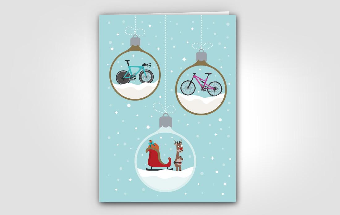 Carte de vœux Swiss Cycling